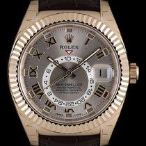 Rolex Sky-Dweller Rose gold 42mm Roman numerals