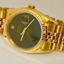 Rolex Datejust Ouro amarelo 36mm Preto Sem números