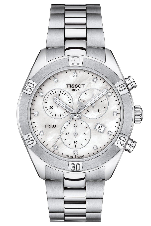 917 Tissot Pr T101 Sport 100 00 Lady Chronograph Chic 11 116 Damen 5LA34Rj