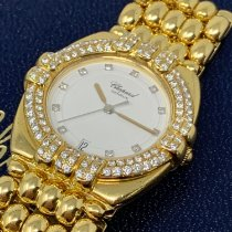 Chopard Gstaad Yellow gold 30mm White