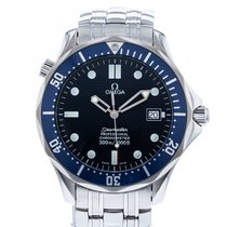 Omega Seamaster Diver 300 M Staal 41mm Blauw