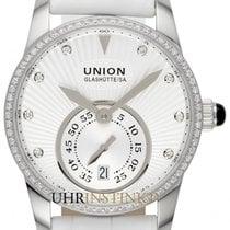 Union Glashütte Seris Otel 36mm Alb
