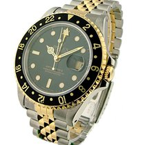 Rolex Used 16713_used_black_jubilee 2-Tone GMT-Master 16713 -...