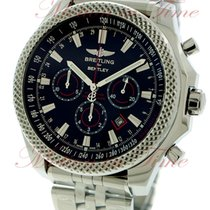 Breitling Bentley Barnato Steel 49mm Black No numerals United States of America, New York, New York