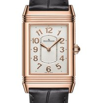 Jaeger-LeCoultre Grande Reverso Lady Ultra Thin Duetto Duo Or rose 40mm Argent Arabes