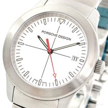Porsche Design new Quartz Central seconds Luminous hands Luminous indices 38.50mm Steel Sapphire crystal