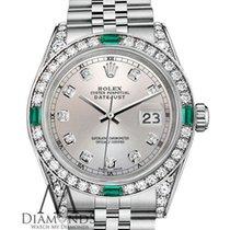 Rolex Lady-Datejust Acier 26mm Argent Sans chiffres