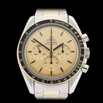 Omega Speedmaster Stainless Steel & 18k Yellow Gold Gents...