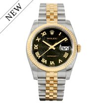 Rolex Datejust Gold/Steel 116233 NEW