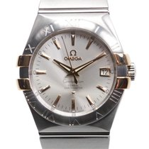 Omega Constellation Stainless Steel Silver Automatic 123.20.35...
