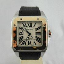 Cartier Santos 100XL Steel and gold, Acciaio e oro
