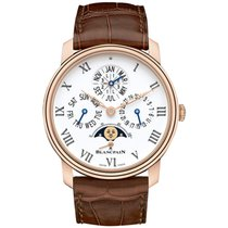 Blancpain new Automatic 42mm Rose gold Sapphire Glass