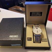 Seiko Rare Vintage Seiko Chronograph Moon Phase #7a48-7009...