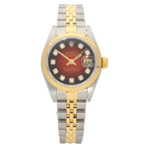 Rolex Lady-Datejust Gold/Steel 26mm Red No numerals United Kingdom, Liverpool
