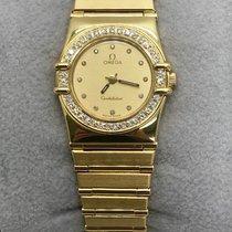 Omega Ladies Constellation Factory Diamond Bezel & Diamond...