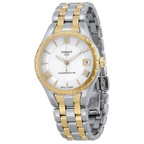 Tissot Lady 80 Automatic Staal 34mm Romeins