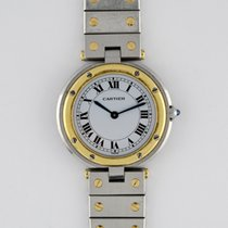 Cartier Santos Ronde Two Tone Midsize