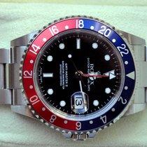 Rolex [LIKE NEW+B+P+NO-HOLE+SERVICE] GMT Master II PEPSI - 2004