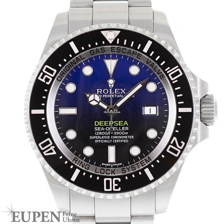 Rolex Oyster Perpetual Sea-Dweller Deepsea D-Blue