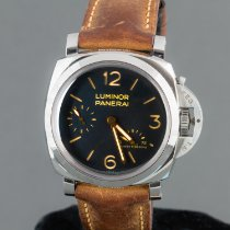 Panerai Luminor 1950 3 Days Power Reserve Stål 47mm Arabiska Sverige, Vellinge