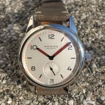 NOMOS Club Datum Steel 38,5mm White Arabic numerals