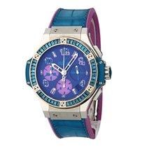 Hublot Big Bang Pop Art Stahl 41mm Violett Keine Ziffern