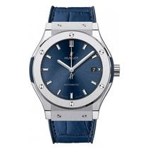 Hublot Classic Fusion Blue Titanio 45mm Azul
