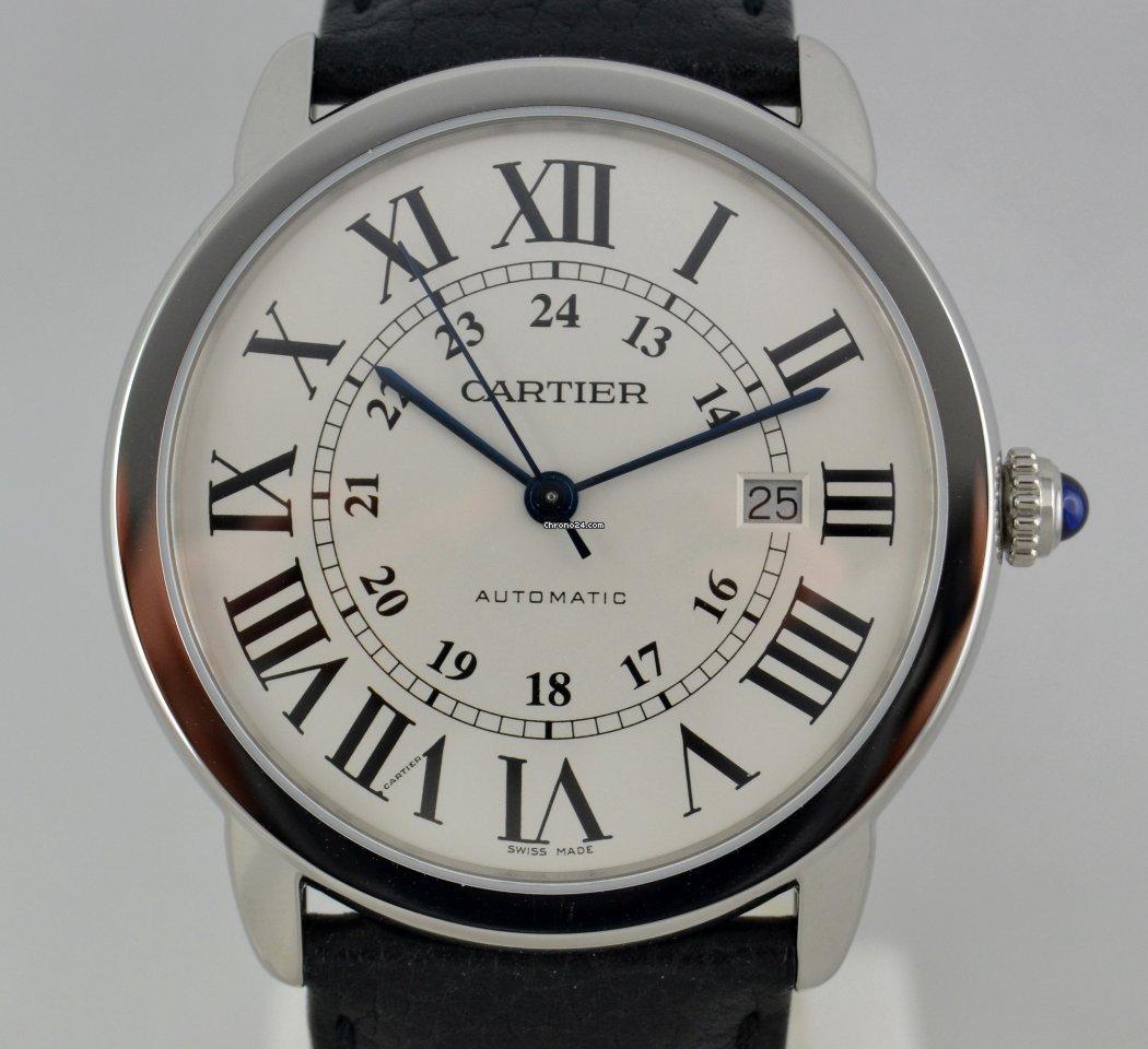 e1c439c8abbe12 Prezzi di orologi Cartier Ronde de Cartier nuovi su Chrono24