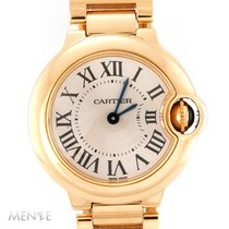 Cartier Ballon Bleu 28mm W69001Z2 2011 подержанные