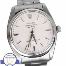 Rolex Air King Steel 34mm White United States of America, New York, Smithtown