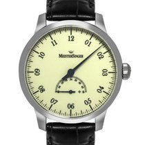 Meistersinger Steel 43mm Automatic UM203 new