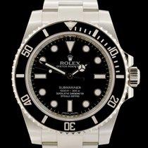 Rolex Submariner (No Date) neu 2015 Automatik Uhr mit Original-Box und Original-Papieren 114060