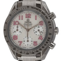 Omega Speedmaster Reduced Steel 39mm Mother of pearl Arabic numerals United States of America, Texas, Austin