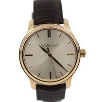 H.Moser & Cie. Endeavour Rose gold 40.8mm Silver United States of America, New York, New York