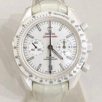 Omega Speedmaster Professional Moonwatch Cerámica Blanco Sin cifras