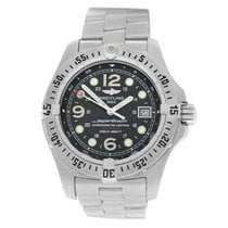 Breitling Superocean Steelfish Silver 44mm Black Arabic numerals United States of America, New York, New York