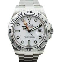 Rolex Explorer II Stahl 42mm Weiß