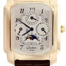 Glashütte Original Senator Karrée new Manual winding Watch with original box and original papers 42-01-02-02-04