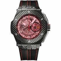 Hublot Carbon Automatic Grey Arabic numerals 45mm new Big Bang Ferrari