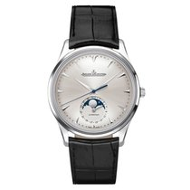 Jaeger-LeCoultre Master Ultra Thin Moon Steel 39mm Silver No numerals United States of America, New York, New York