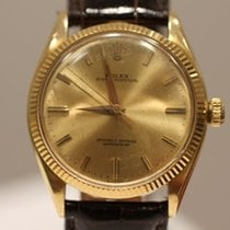 Rolex Yellow gold Automatic Gold No numerals 36mm pre-owned Oyster Perpetual 36
