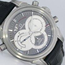 Omega De Ville Co-Axial nuevo Automático Cronógrafo Reloj con estuche y documentos originales 48484031