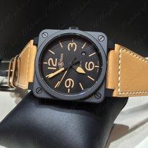 Bell & Ross BR 03-92 Ceramic nuevo Automático Reloj con estuche y documentos originales BR0392-HERITAGE-CE