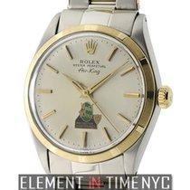 Rolex Air-King Winn Dixie Edition Steel & Yellow Gold Silver...