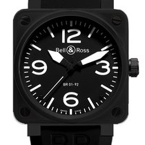 Bell & Ross BR 01-92 new Automatic Watch with original box BR01-92-CARBON