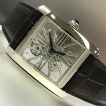 Cartier Palladium Automatic Transparent new Tank MC