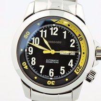 Tourneau Automatic 300 Meters Day/date Stainless Steel Black...