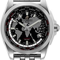 Breitling Galactic Unitime neu Automatik Uhr mit Original-Box und Original-Papieren WB3510U4.BD94.375A