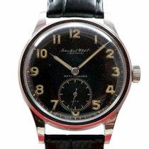 IWC Hermet Sport Cal. 83 1940's Black Dial, Antimagnet