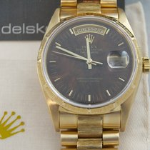 "Rolex 18078 Day-Date B&P LC 100  ""Wood Dial ""Full Set von 1987"